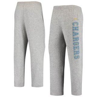 ロサンゼルス・チャージャーズ Concepts Sport Reprise Tri-Blend Knit Pants - Heathered Gray
