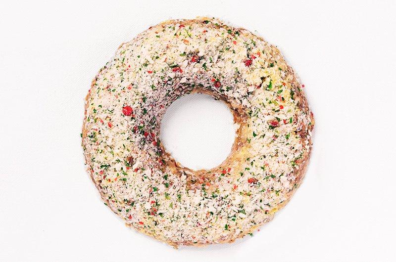 モツとマスタード・香草パン粉:ラベンダーポーク + ジャガイモのソース イメージ1