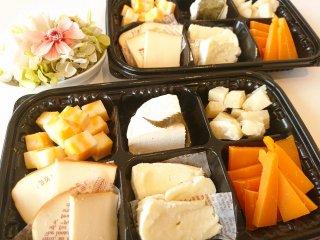 6種のチーズオードブル