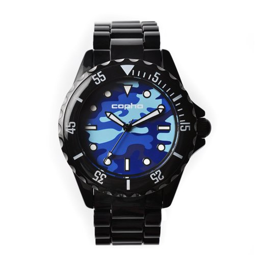 COPHA SWAGGER Black Blue-Camo(コプハ スワッガー ブラック ブルー-カモ)