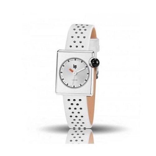 [レディース] フランス発 LIP MACH2000 MINI SQUARE(リップ マッハ2000 ミニ スクエア)LP671113 クォーツ腕時計