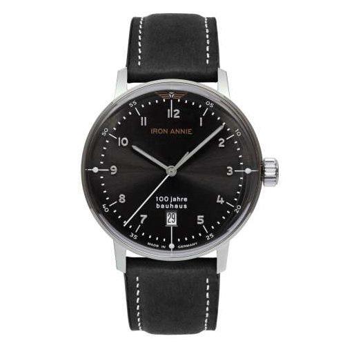 [メンズ] ドイツ発 IRON ANNIE BAUHAUS 5046-2QZ  アイアンアニー バウハウス  バウハウスデザイン パイロットウォッチ クォーツ腕時計