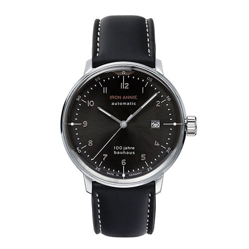 [メンズ] ドイツ発 IRON ANNIE BAUHAUS 5056-2AT アイアンアニー バウハウス バウハウスデザイン パイロットウォッチ 自動巻き腕時計