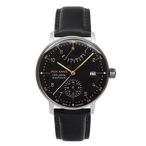 [メンズ] ドイツ発 IRON ANNIE BAUHAUS 5066-2AT アイアンアニー バウハウス バウハウスデザイン パイロットウォッチ パワーリザーブ 自動巻き腕時計