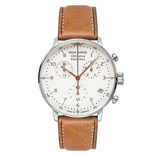 [メンズ] ドイツ発 IRON ANNIE BAUHAUS 5096-4QZ アイアンアニー バウハウス バウハウスデザイン パイロットウォッチ クロノグラフ クォーツ腕時計