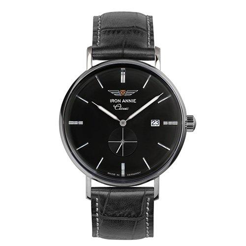 [メンズ] ドイツ発 IRON ANNIE CLASSIC 5938-2QZ アイアンアニー クラシック シンプルデザイン パイロットウォッチ クォーツ腕時計