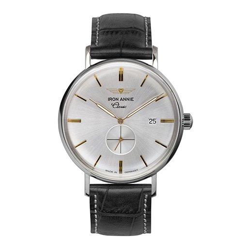 [メンズ] ドイツ発 IRON ANNIE CLASSIC 5938-4QZ アイアンアニー クラシック シンプルデザイン パイロットウォッチ クォーツ腕時計