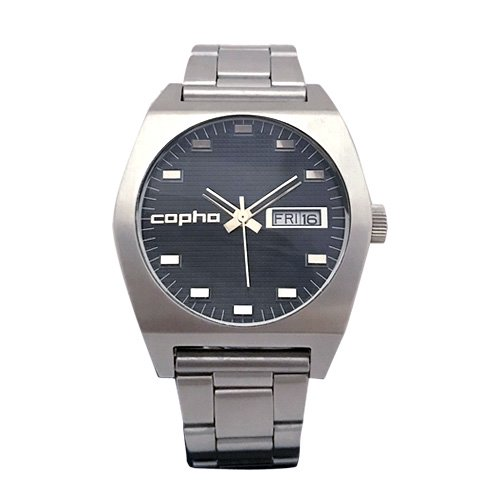 COPHA Kult Steel Bracelet Black×Silver(コプハ カルト スチールブレスレット ブラック×シルバー)