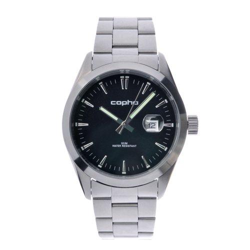 COPHA BASIC TIME 42 Steel Bracelet Black(コプハ ベーシックタイム42 スチールブレスレット ブラック)