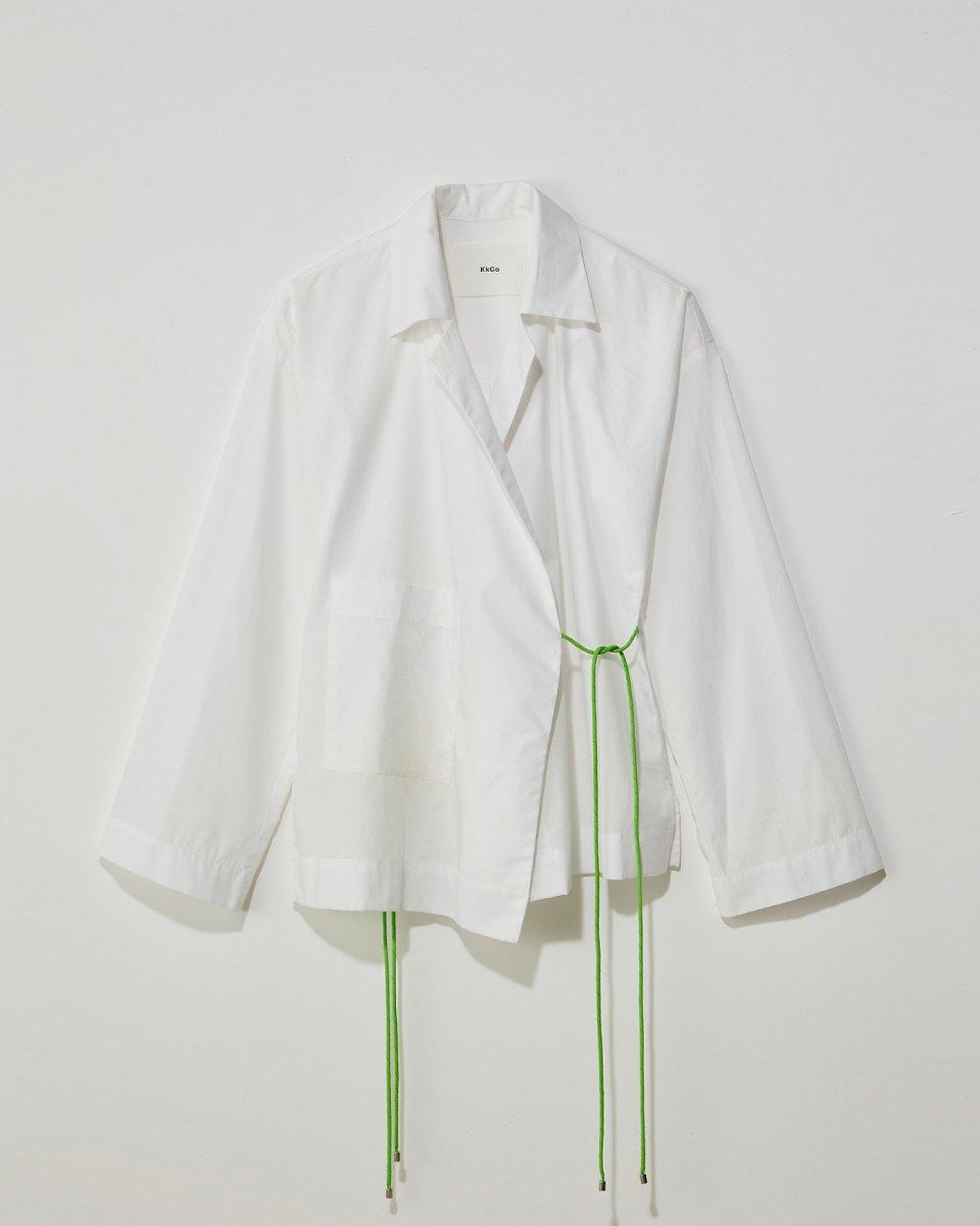 ラップシャツ 白 - ¥29,700