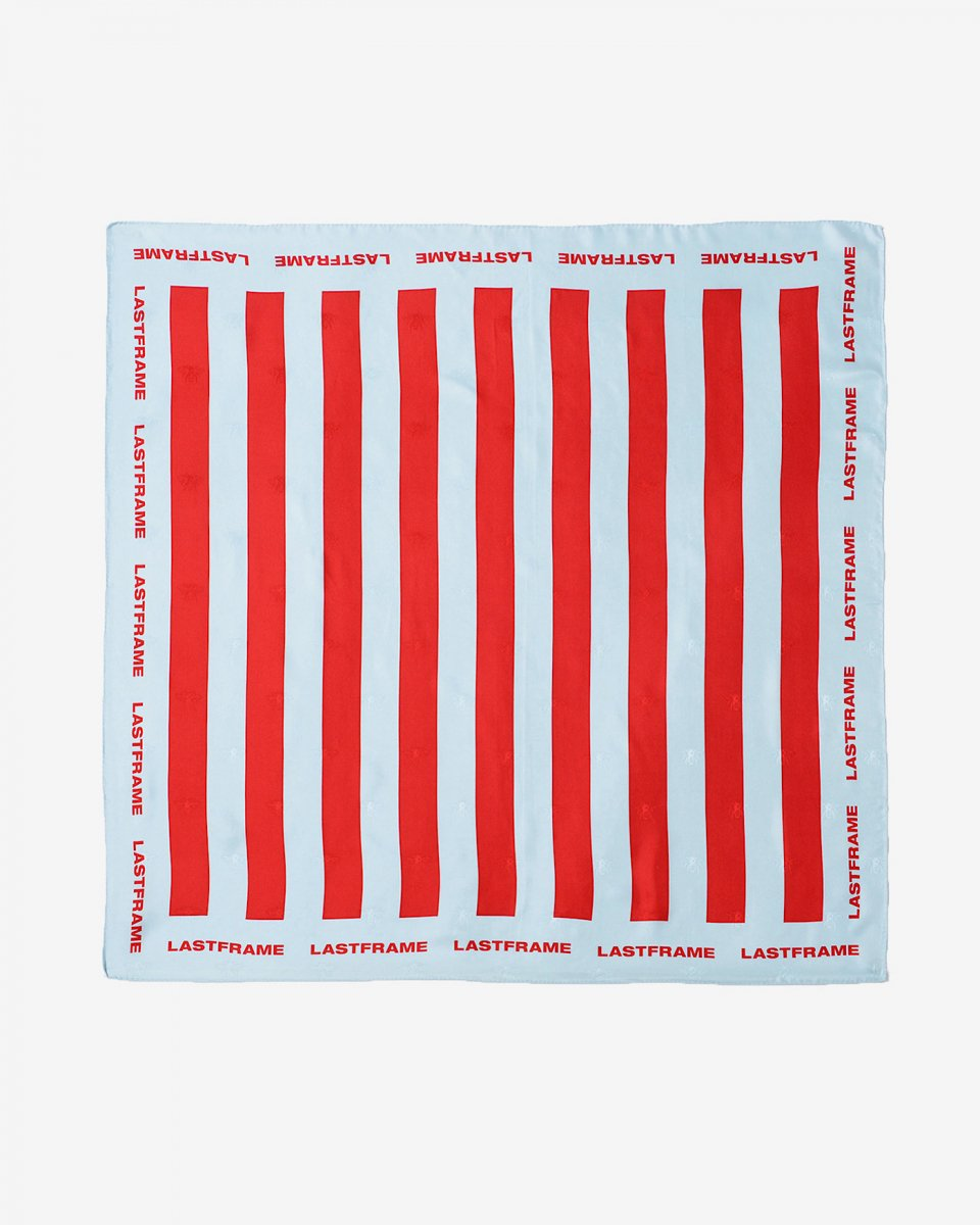 LASTFRAME ストライプスカーフ - ¥19,000