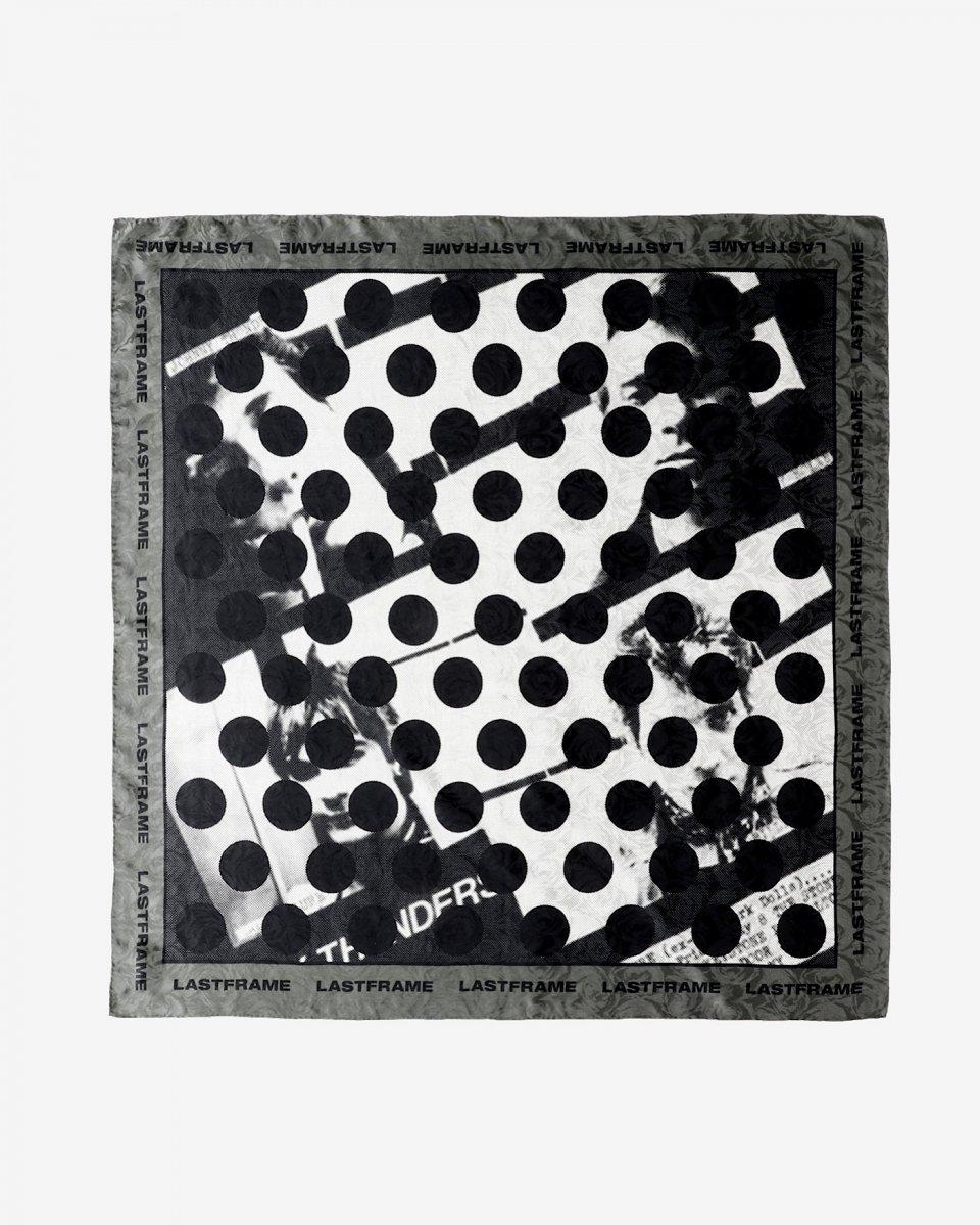 LASTFRAME ドットスカーフ - ¥22,000