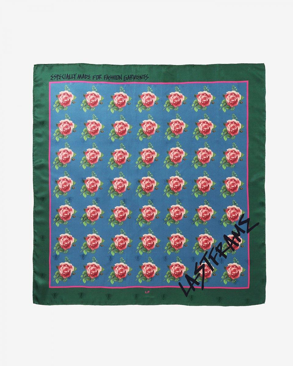 LASTFRAME バラ x グラフィティスカーフ - ¥22,000