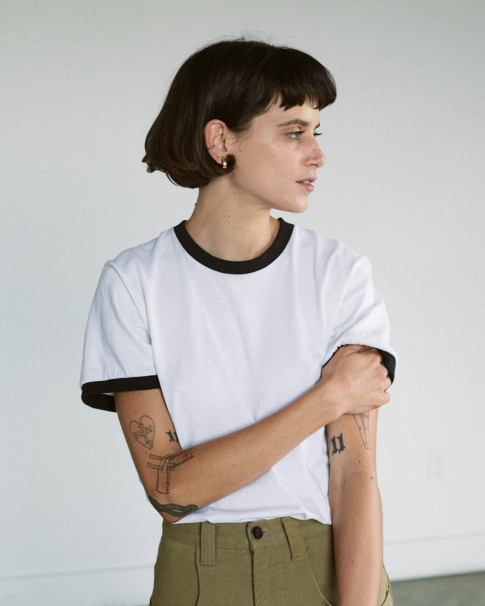 UPCYCLE リンガーTシャツ - ¥4,840