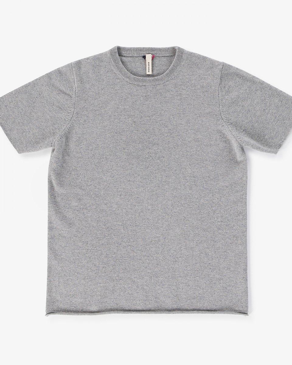 カシミアTシャツ ライトグレー - ¥38,500