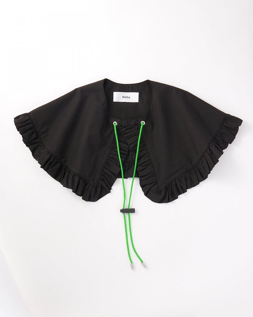 再入荷予定 | つけ襟 黒 - ¥8,000