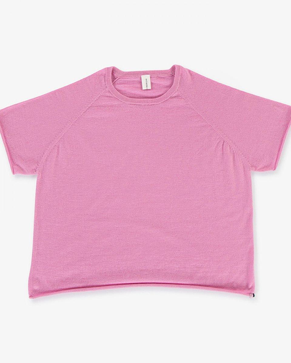 カシミアラグランTシャツ ピンク - ¥31,900