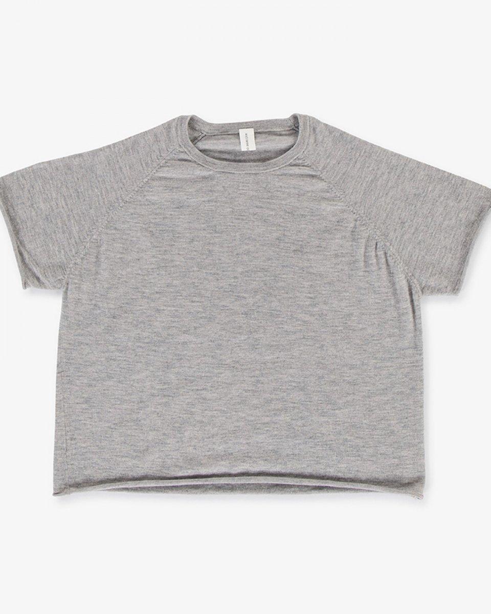 カシミアラグランTシャツ ライトグレー - ¥31,900