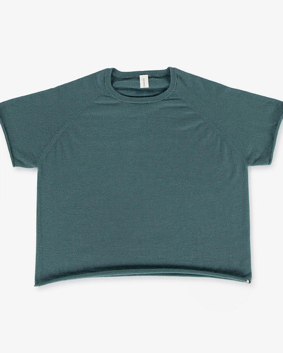 カシミアラグランTシャツ グリーン - ¥26,400
