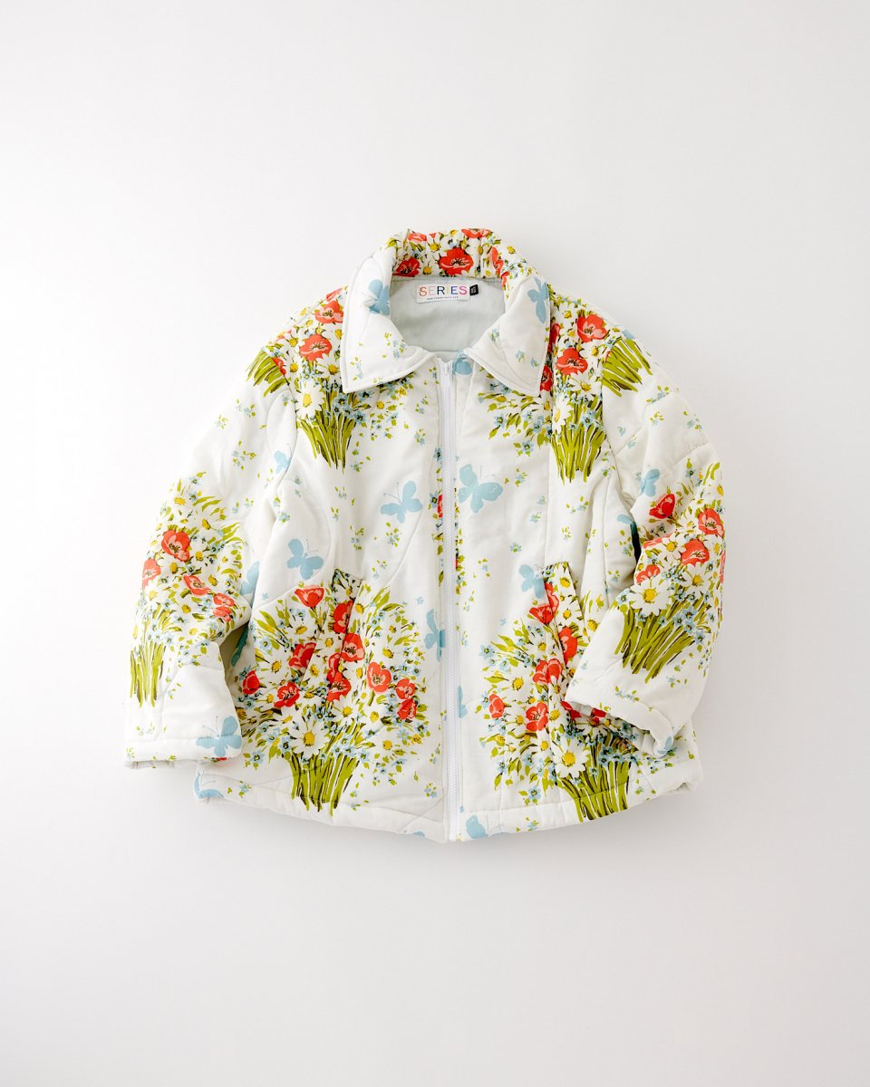 THE SERIES パフジャケット「蝶よ!花よ!」 - ¥38,500