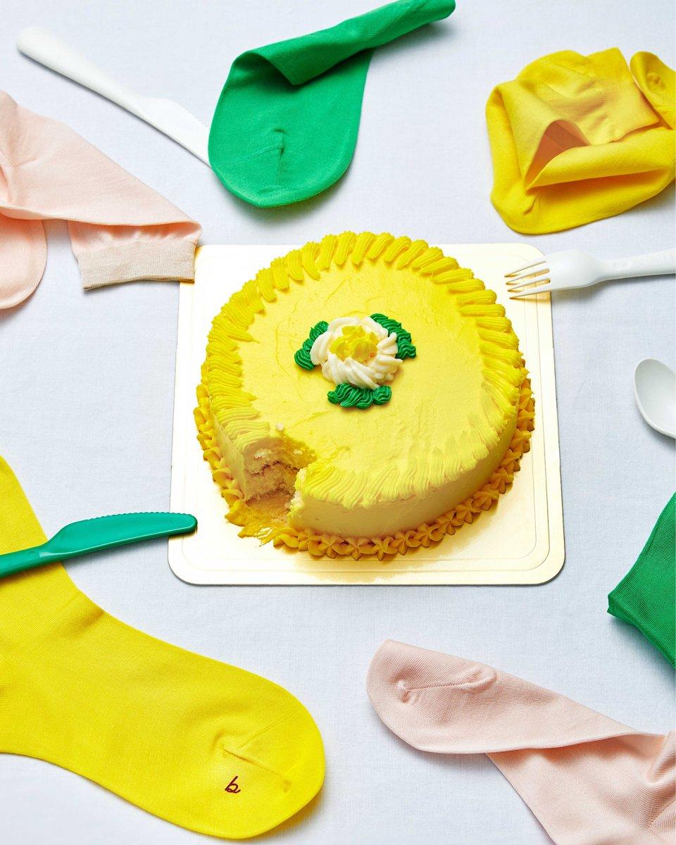 babaco 3色セットソックス ケーキ - ¥4,466