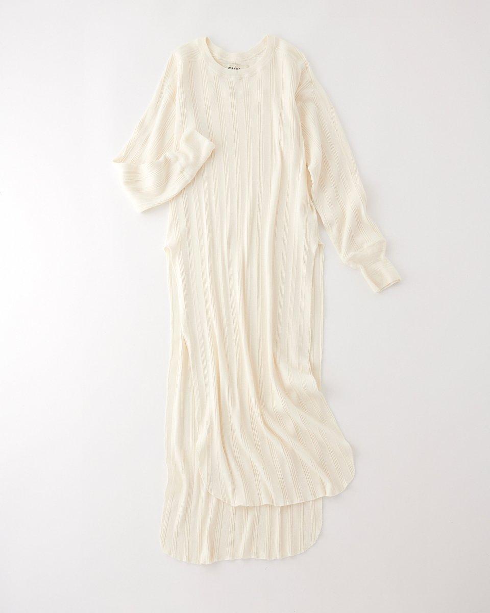 WRYHT リブドレス アイボリー - ¥13,860