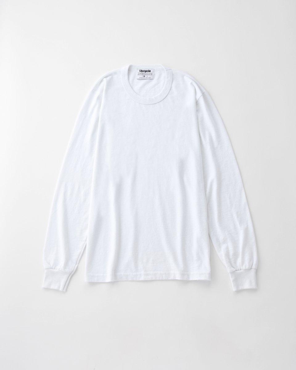 再入荷!UPCYCLE ロングTシャツ 白 - ¥5,390