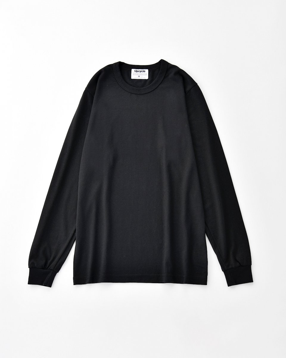 UPCYCLE ロングTシャツ 黒 - ¥5,390