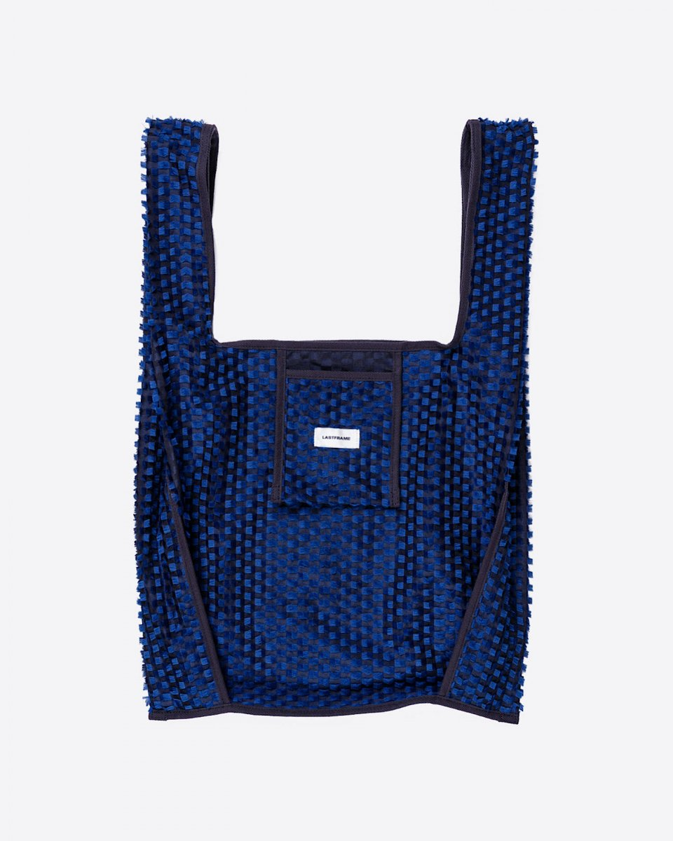 LAST FRAME ジャガード万能バッグ ネイビー x ブラック - ¥19,800