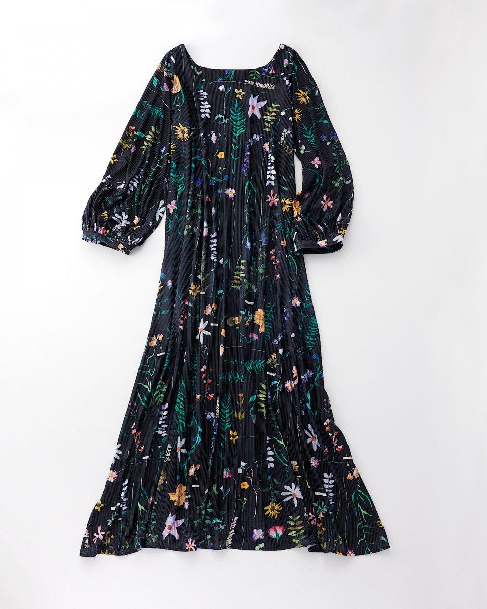 DAUPHINETTE ガーデンプリーツドレス - ¥47,300