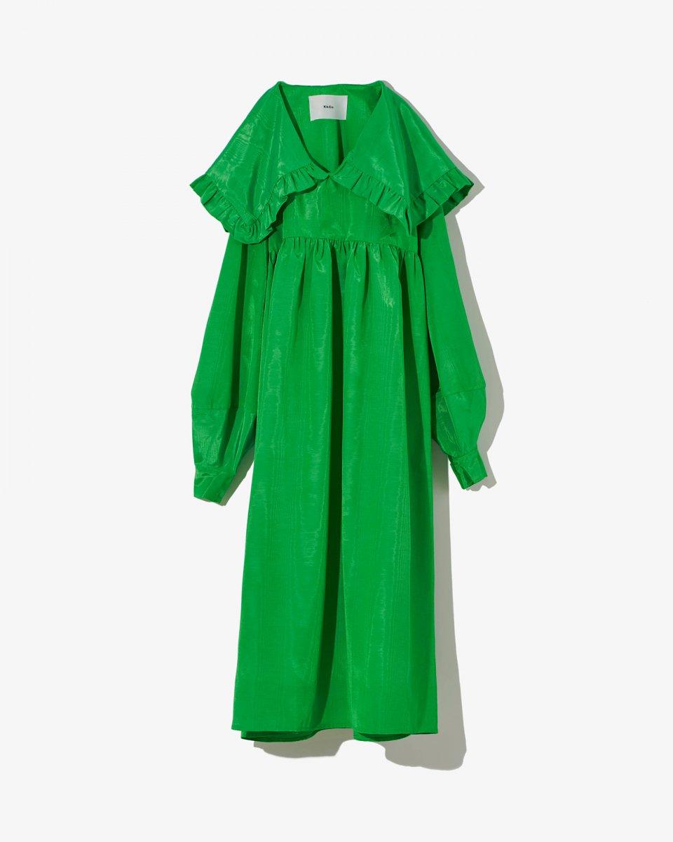 セーラーカラーロングスリーブドレス - ¥37,400