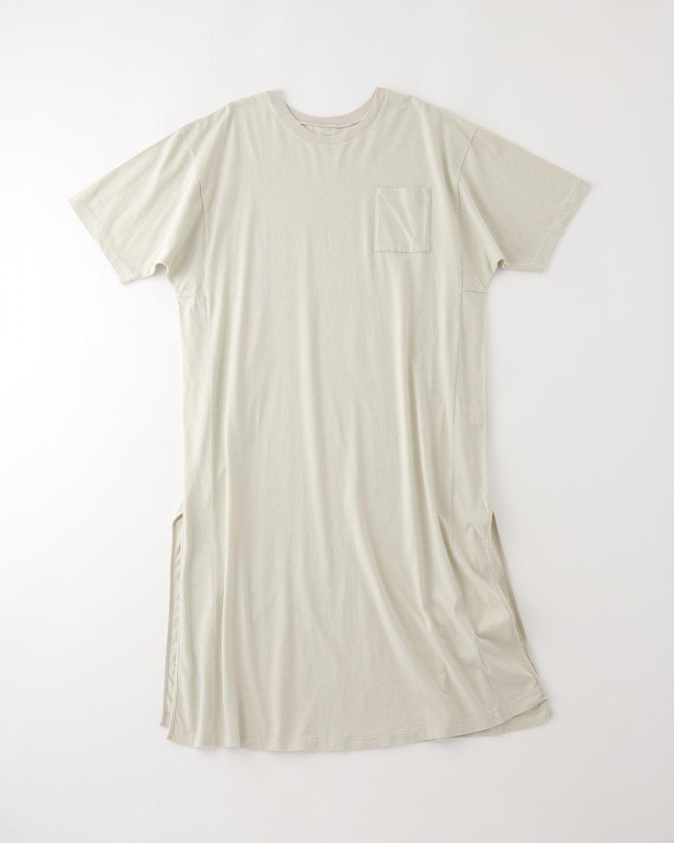 WRYHT オーバーサイズ Tシャツドレス サンドベージュ - ¥11,550