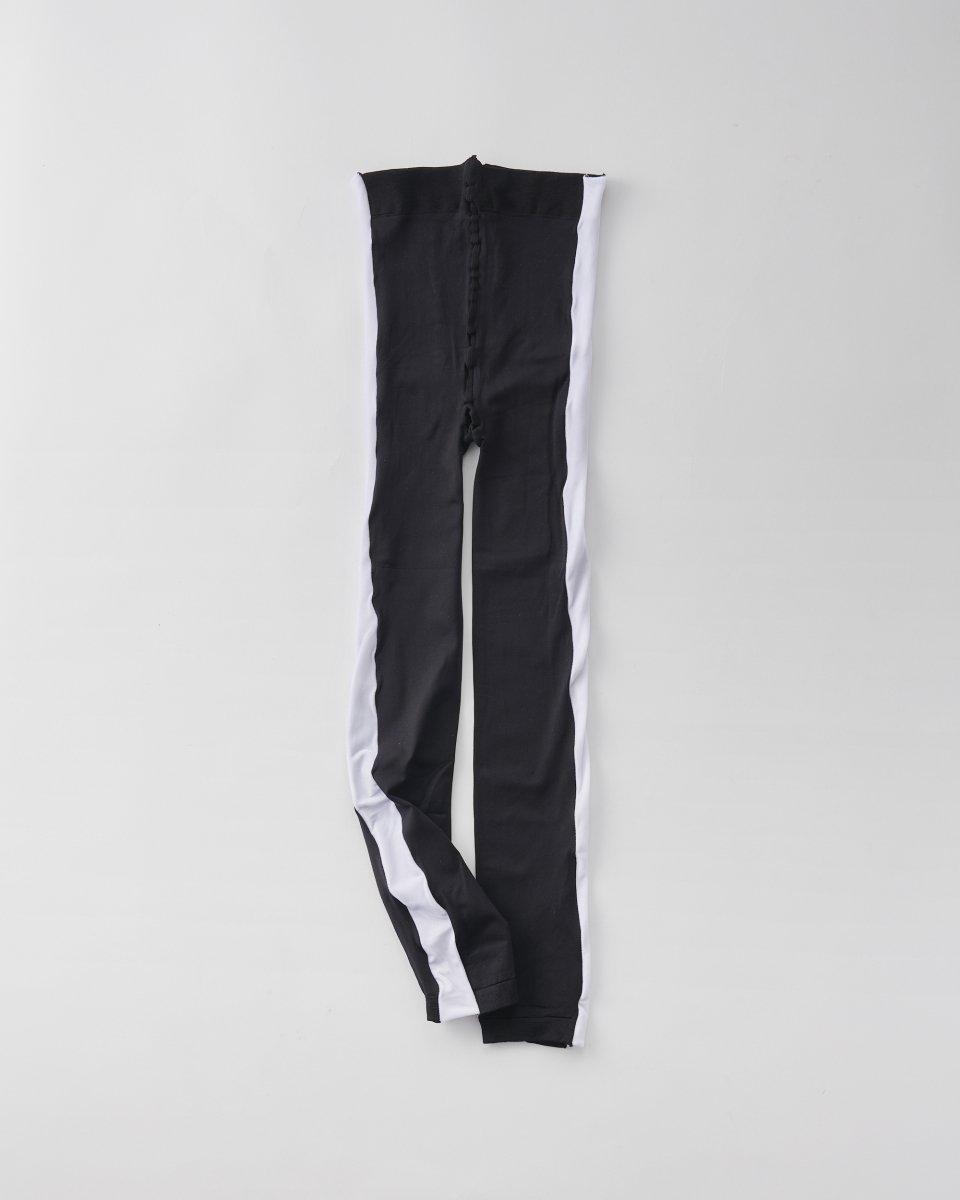 ベルベットサイドラインレギンス 白 - ¥11,550