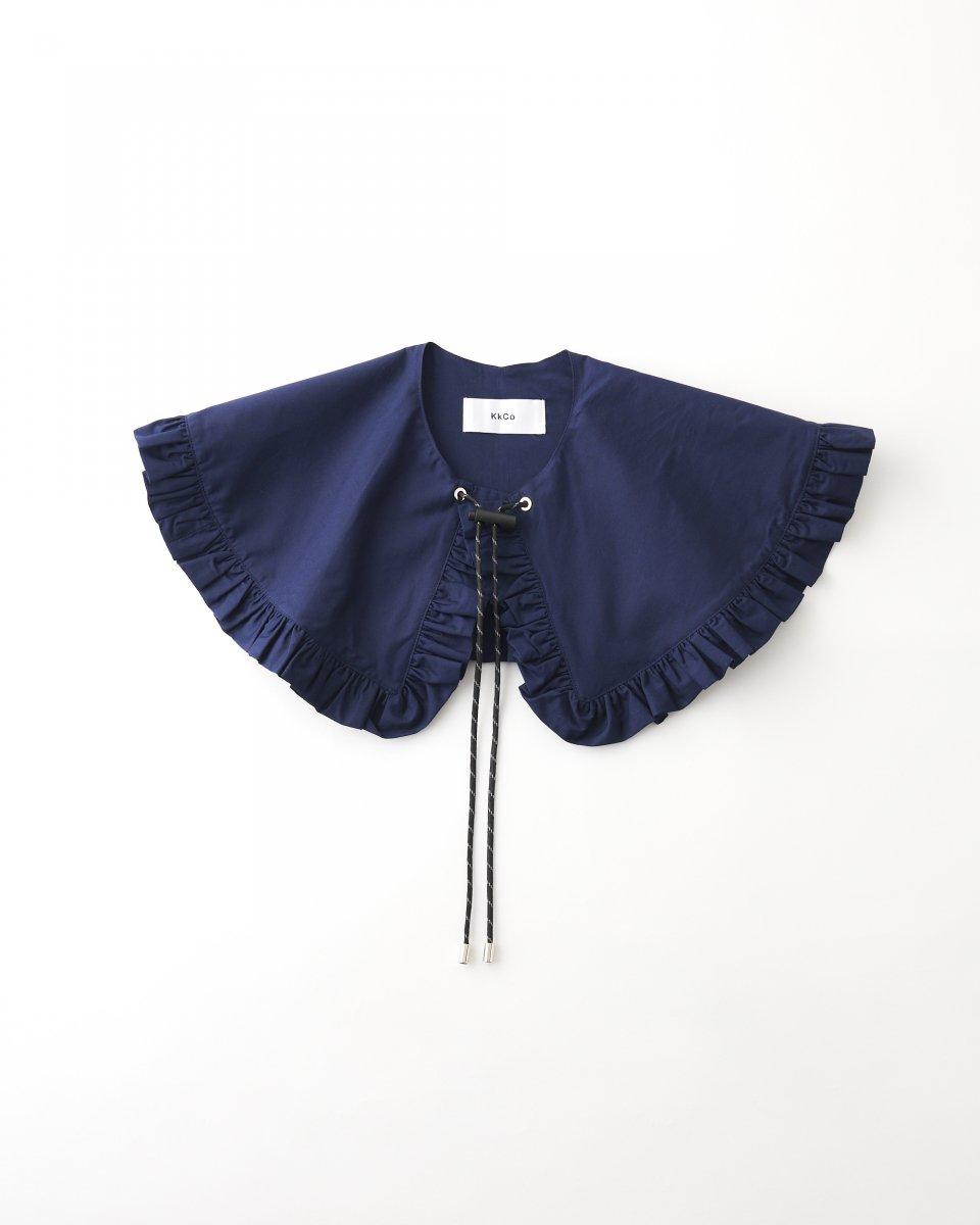 新色!つけ襟 ネイビー - ¥8,800