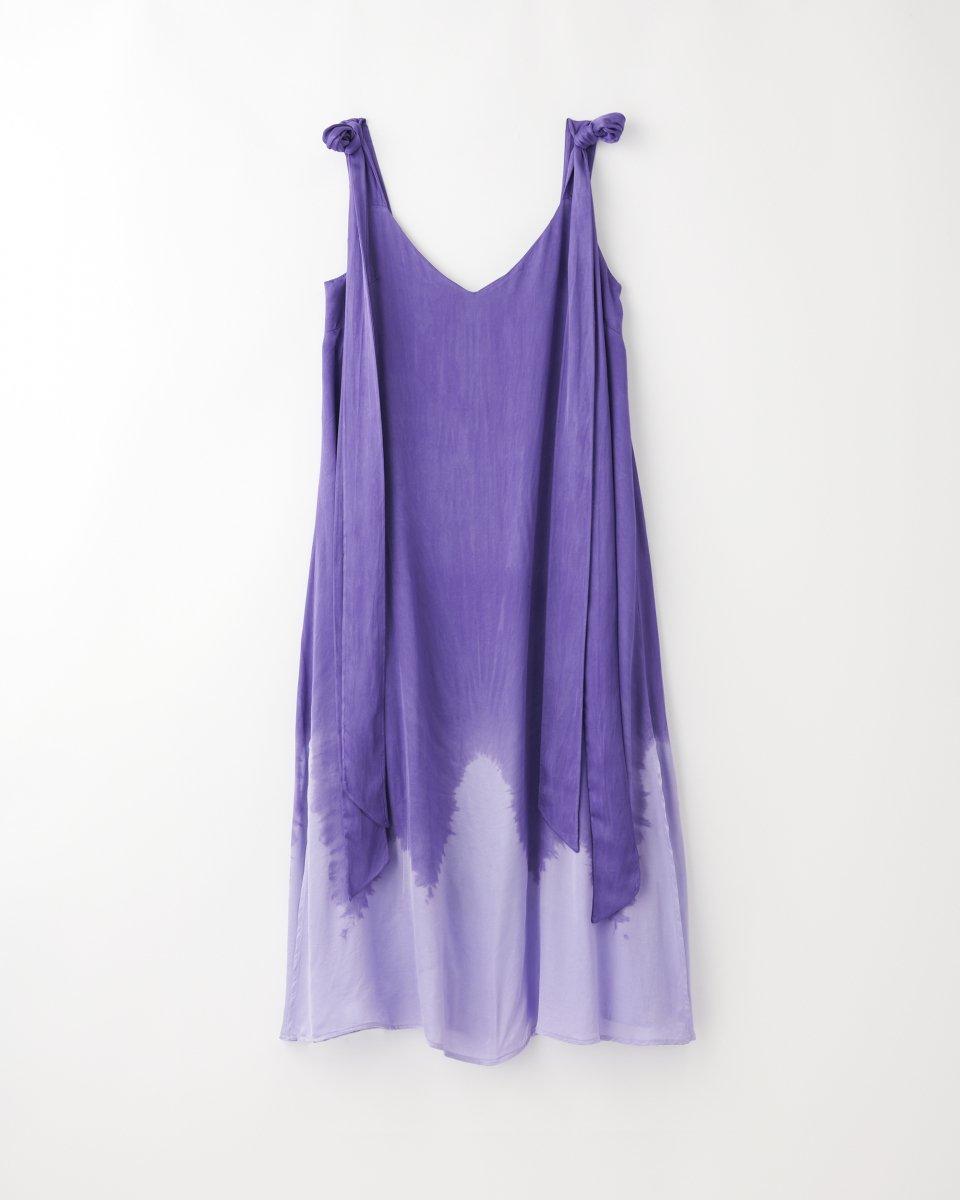 ディップダイスリップドレス アイリス - ¥27,500
