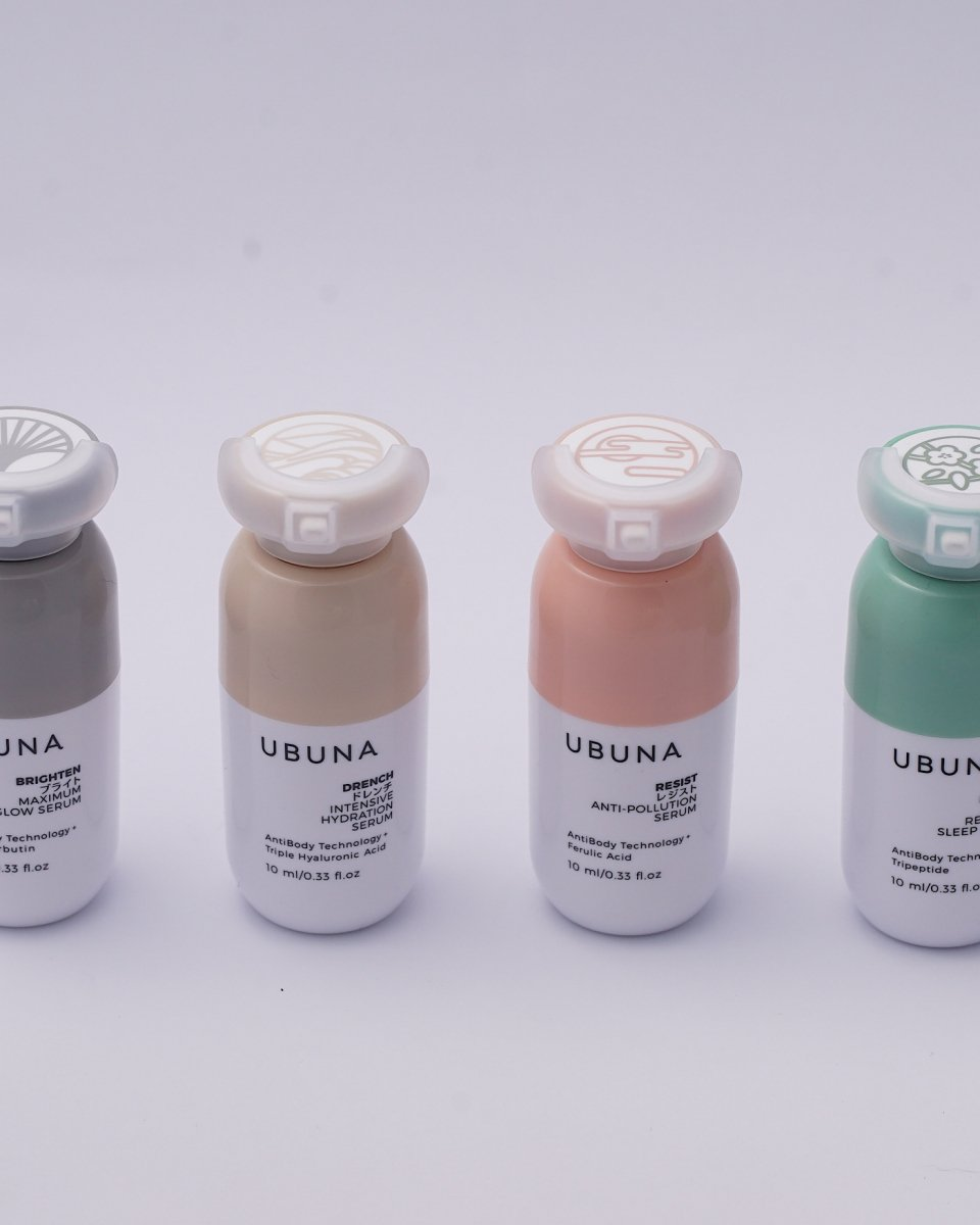 UBUNA - ディスカバリーコレクションセラム 10ml - 4種類セット - ¥23,958