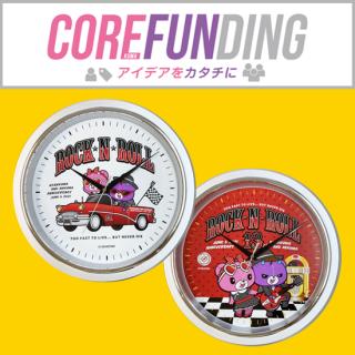 【CORE FUNDING】双熊13th記念ウォールクロック