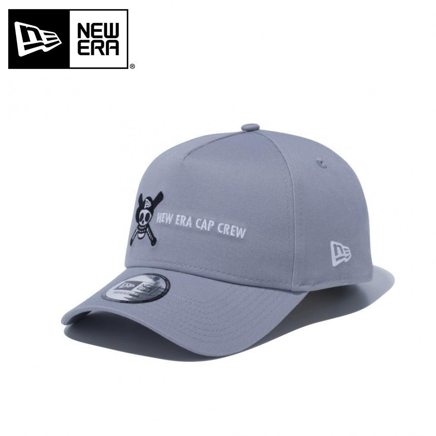 9FORTY A-Frame ONE PIECE ワンピース NEW ERA CAP CREW ドクロ 海賊旗 グレー