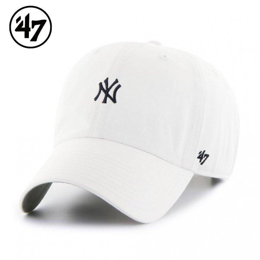 ヤンキース キャップ ベースランナー '47 クリーンナップ ホワイト