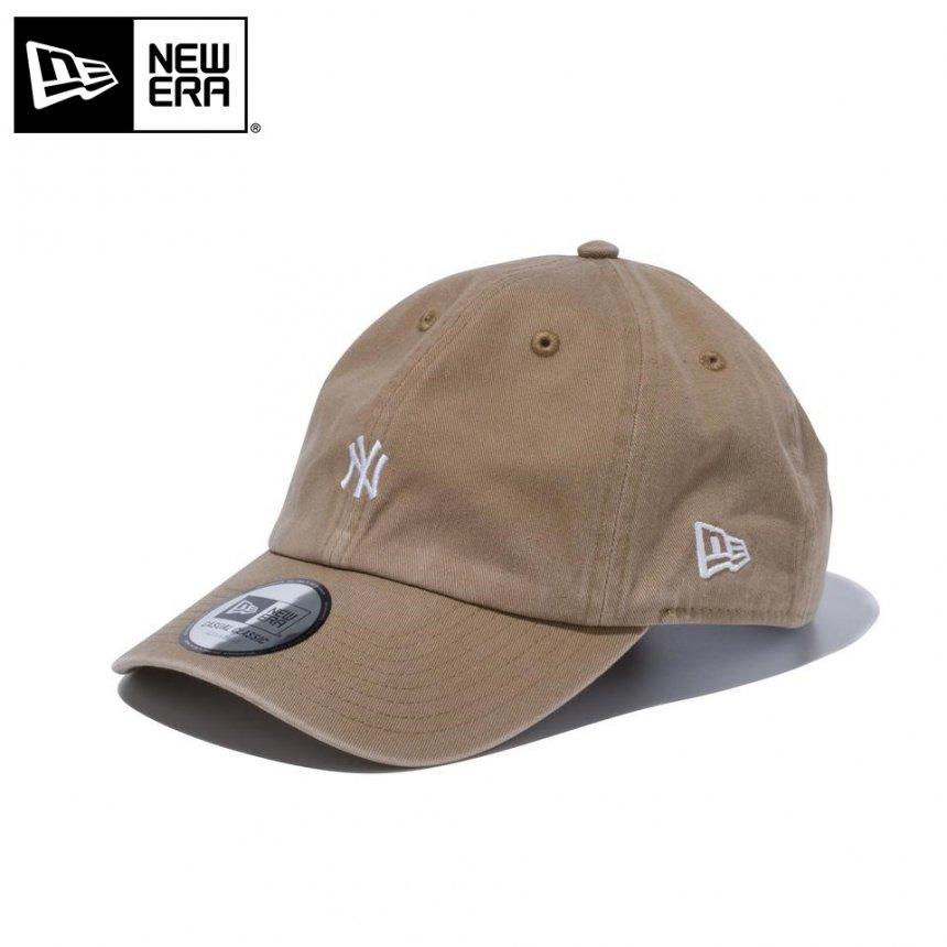 Casual Classic ニューヨーク・ヤンキース MLB カスタム ミニロゴ カーキ