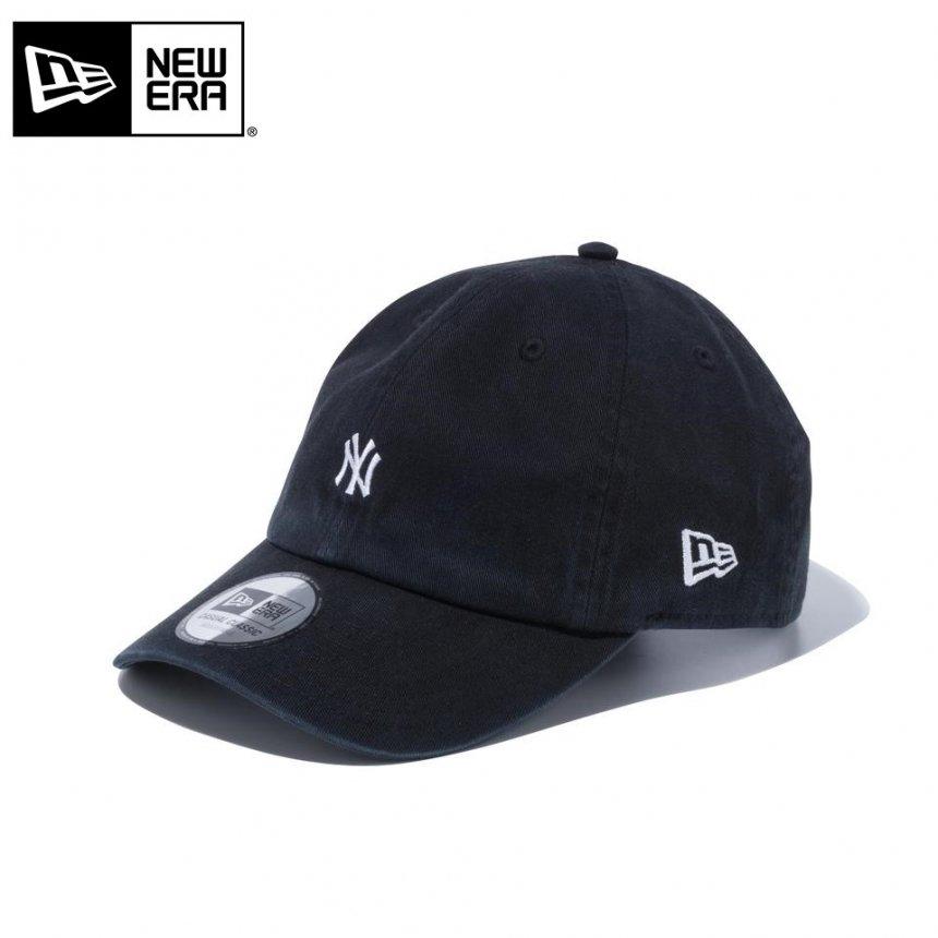 Casual Classic ニューヨーク・ヤンキース MLB カスタム ミニロゴ ブラック