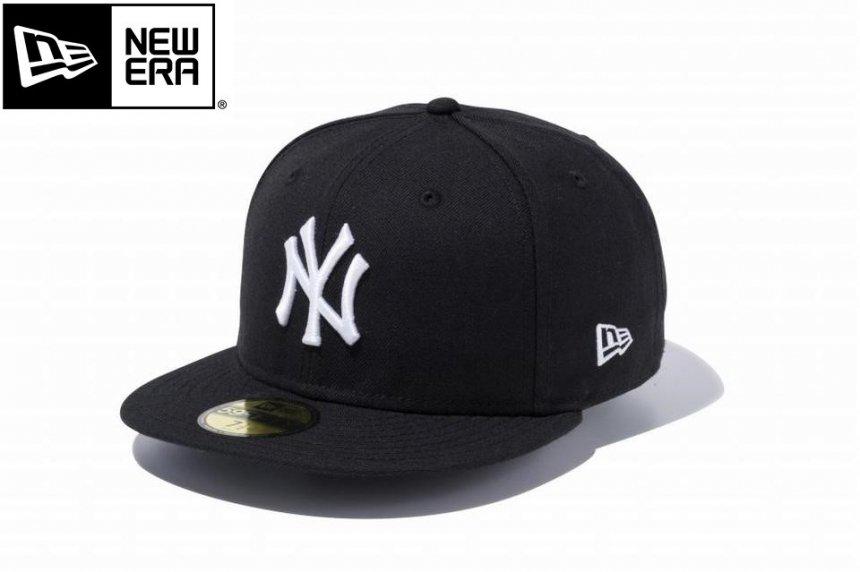 59FIFTY ニューヨーク・ヤンキース ブラック × ホワイト