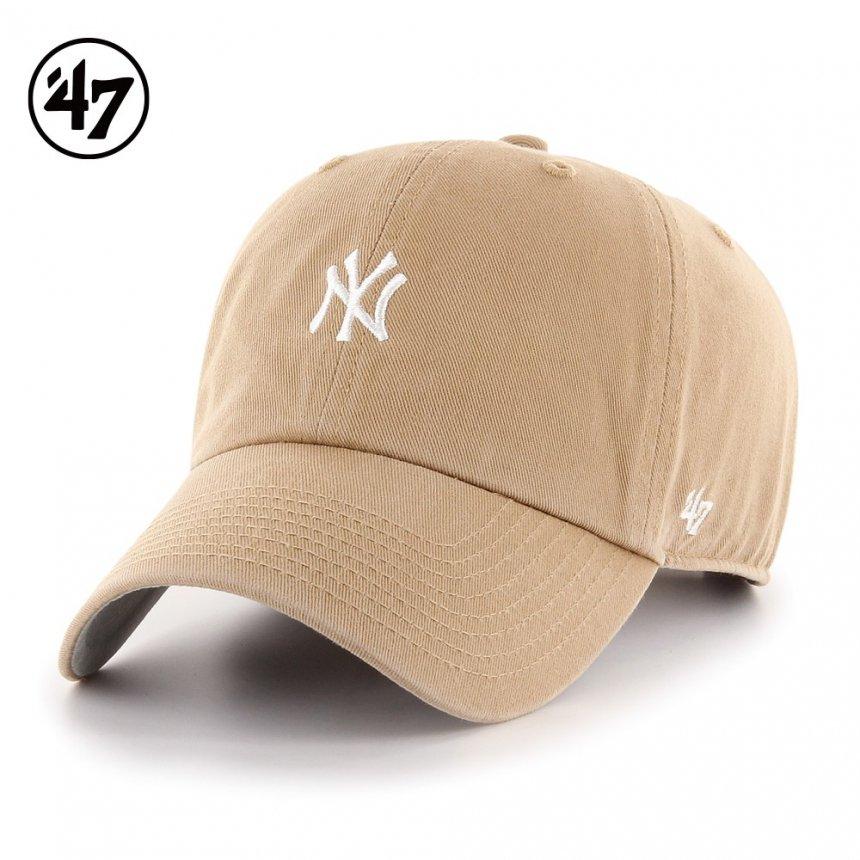 ヤンキース キャップ ベースランナー '47 クリーンナップ カーキ