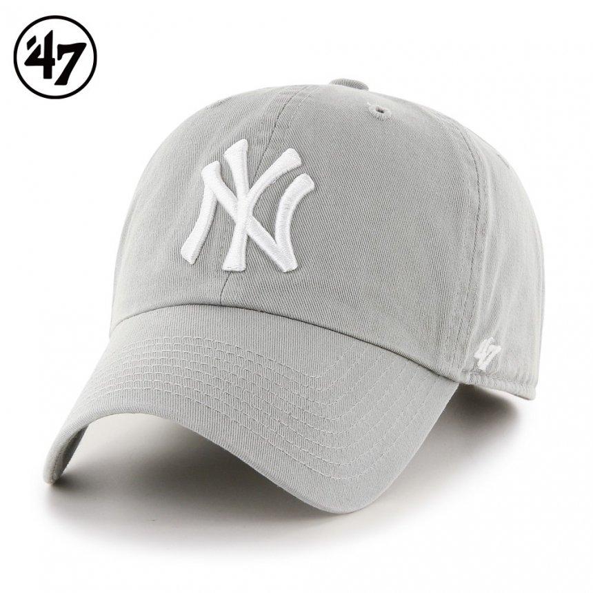 ヤンキース キャップ '47 クリーンナップ グレー
