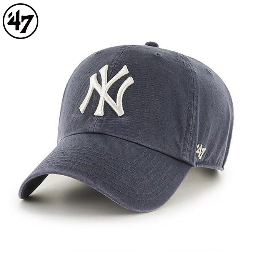 ヤンキース キャップ '47 クリーンナップ ビンテージネイビー