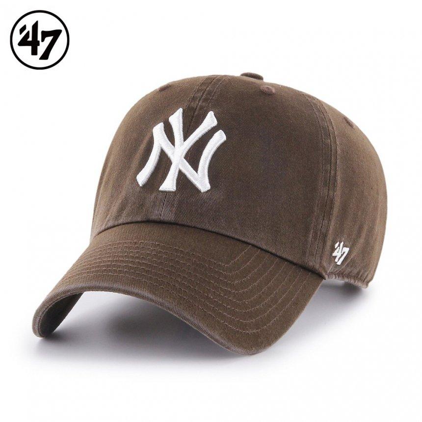 ヤンキース キャップ '47 クリーンナップ ブラウン