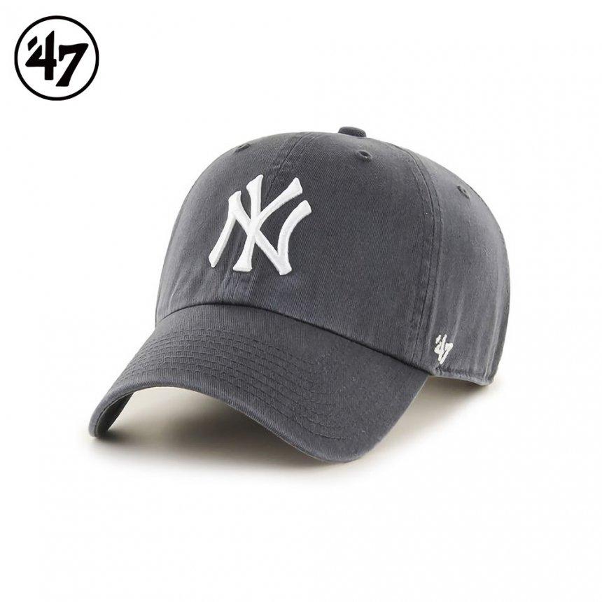 ヤンキース キャップ '47 クリーンナップ チャコール