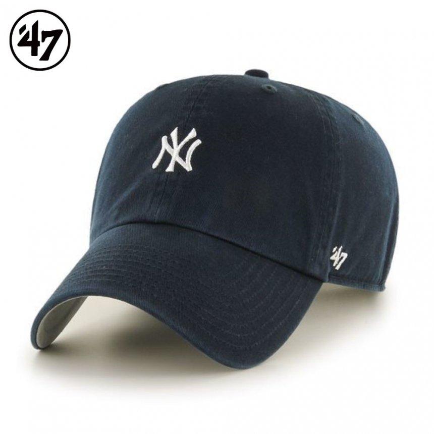 ヤンキース キャップ ベースランナー '47 クリーンナップ ネイビー