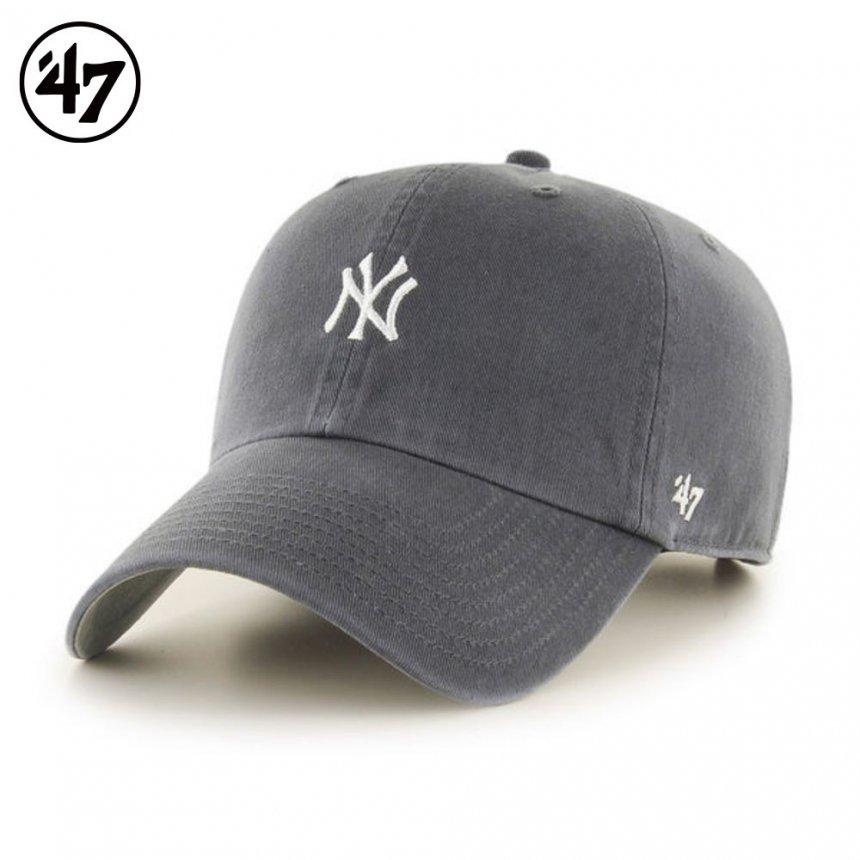 ヤンキース キャップ ベースランナー '47 クリーンナップ チャコール