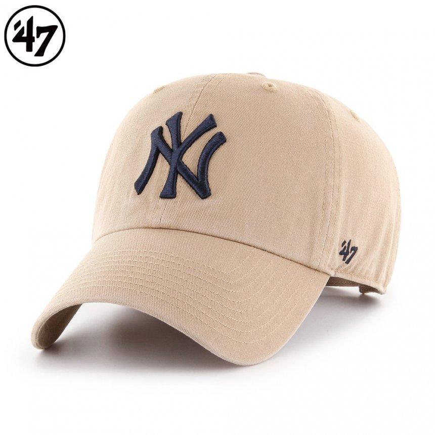 ヤンキース キャップ '47 クリーンナップ カーキ